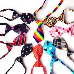 Cravate à motifs pour chien