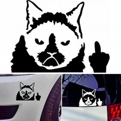 "Sticker ""Chat rebelle"""